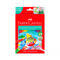Lapices de Colores Acuarelables x 36 Faber
