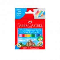 Lapices de Colores Cortos x 12 Faber