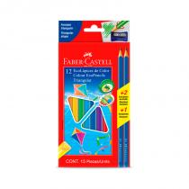 Lapices de Colores Largos x 12 Faber