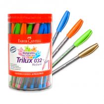 Boligrafo Faber Trilux Colores