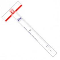 Regla T Plastica 60cm